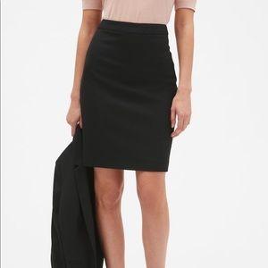 Black Banana Republic Pencil Skirt